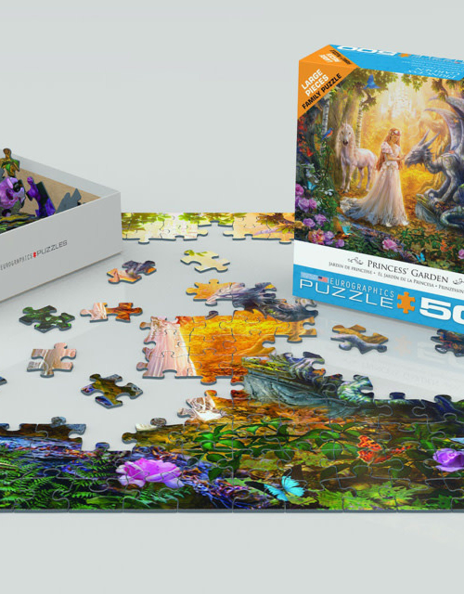 Eurographics Princess' Garden 500 PCS