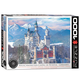 Eurographics Neuschwanstein Castle in Winter 1000 PCS