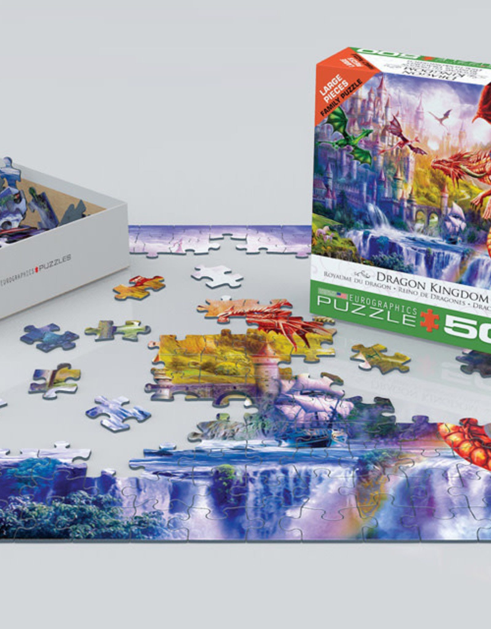 Eurographics Dragon Kingdom 500 PCS