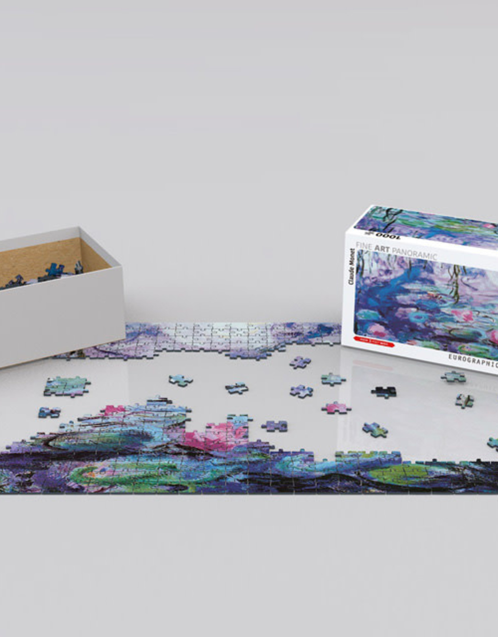 Eurographics Waterlilies 1000 PCS Panorama