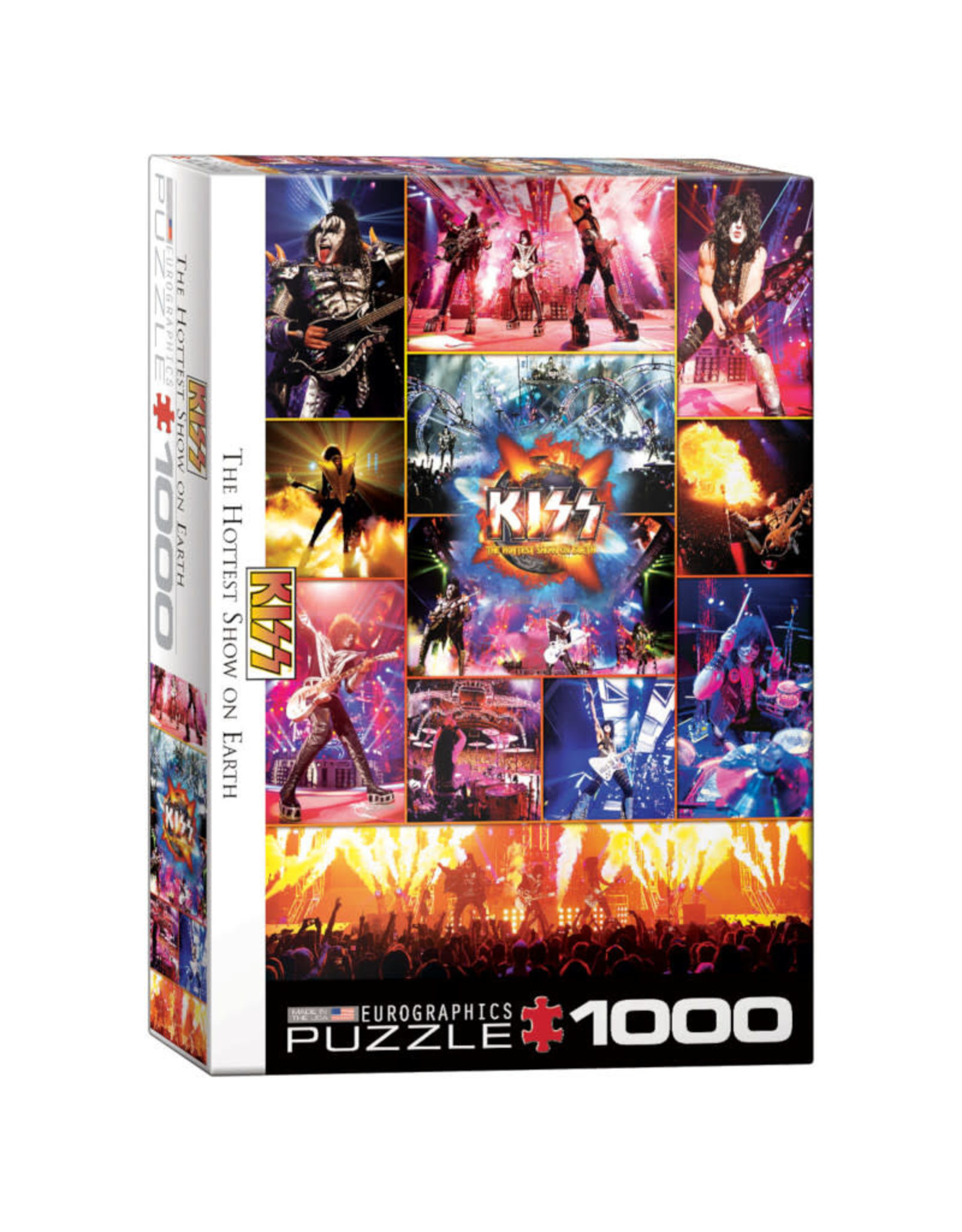 Eurographics KISS The Hottest Show on Earth 1000 PCS