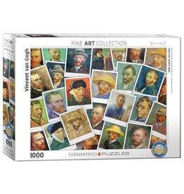 Eurographics Van Gogh Selfies 1000 PCS