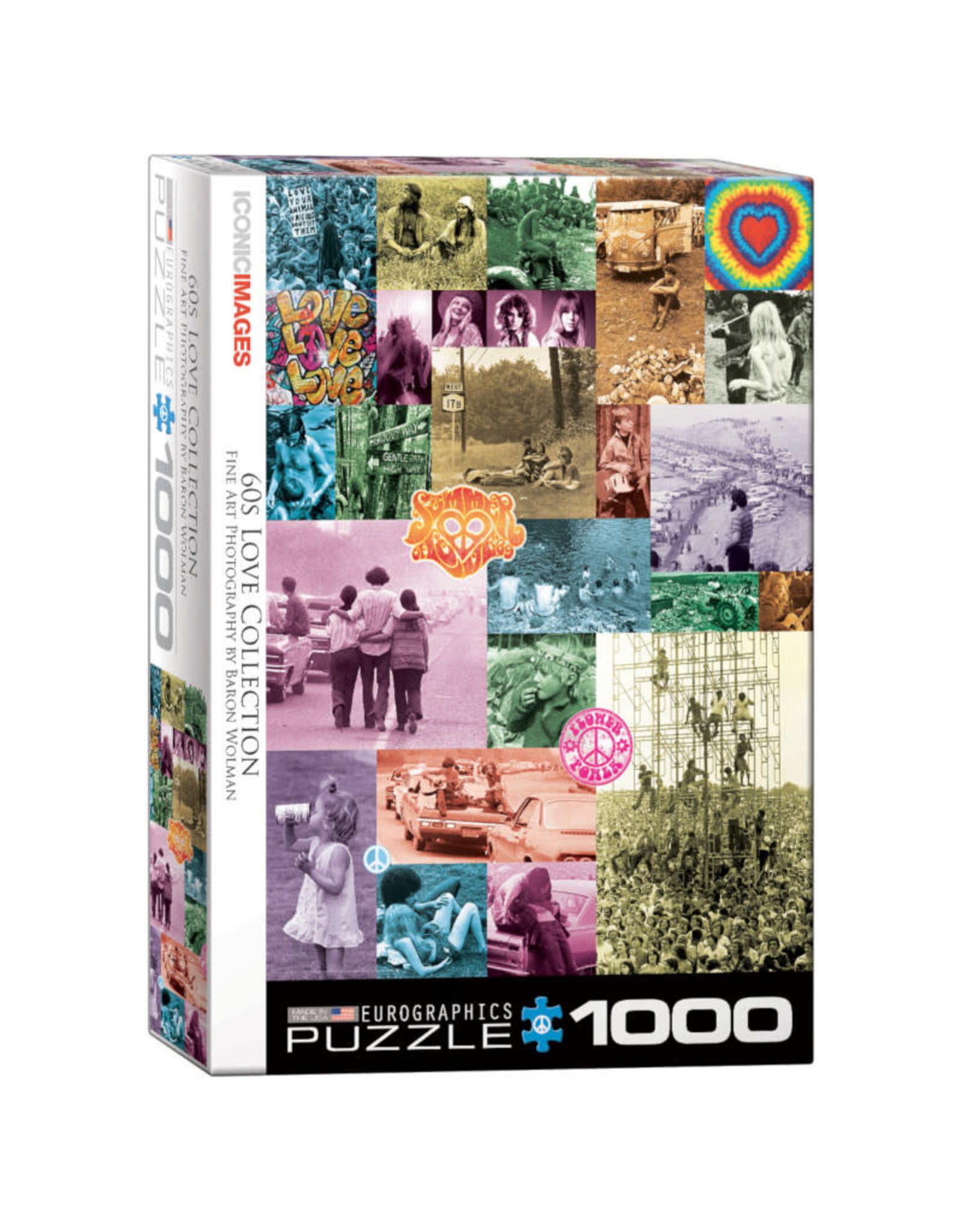 Eurographics 60s Love Collection 1000 PCS