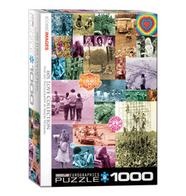 Eurographics 60s Love Collection 1000 PCS