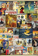 Eurographics Vintage Bicycle Posters 1000 PCS