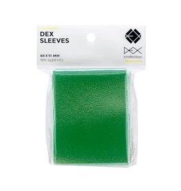 Dex Protection Sleeves: Dex Green (100)
