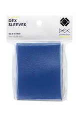 Dex Protection Deck Protectors: Dex Blue (100)