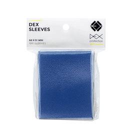 Dex Protection Deck Protectors: Dex Blue (100)