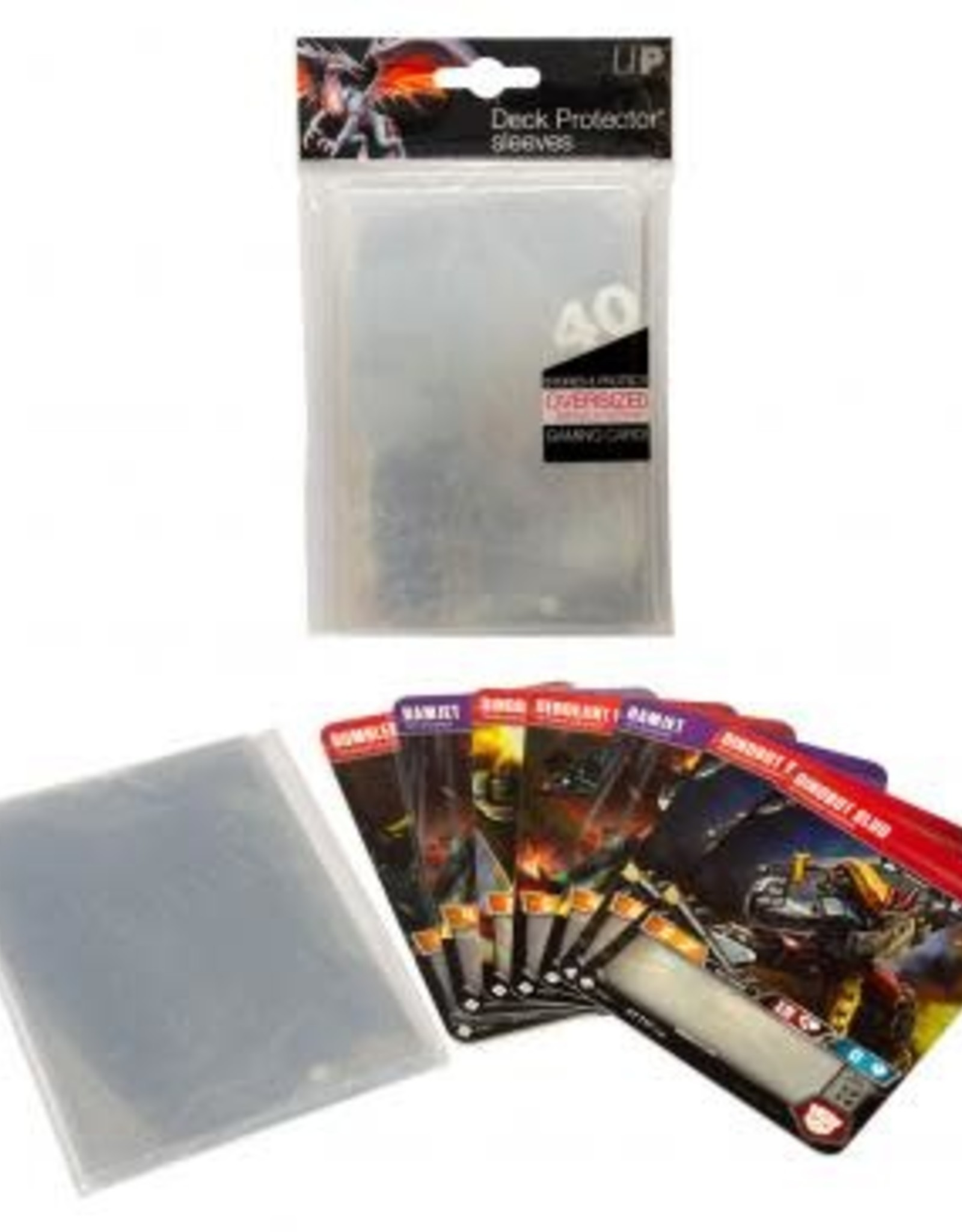 Oversized Deck Protectors: Clear (40)