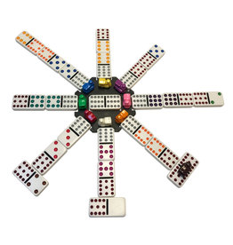 Mexican Train Dominoes (Wood Expressions)