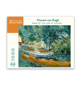 Pomegranate Bank of the Oise at Auvers Puzzle 1000 PCS (Van Gogh)