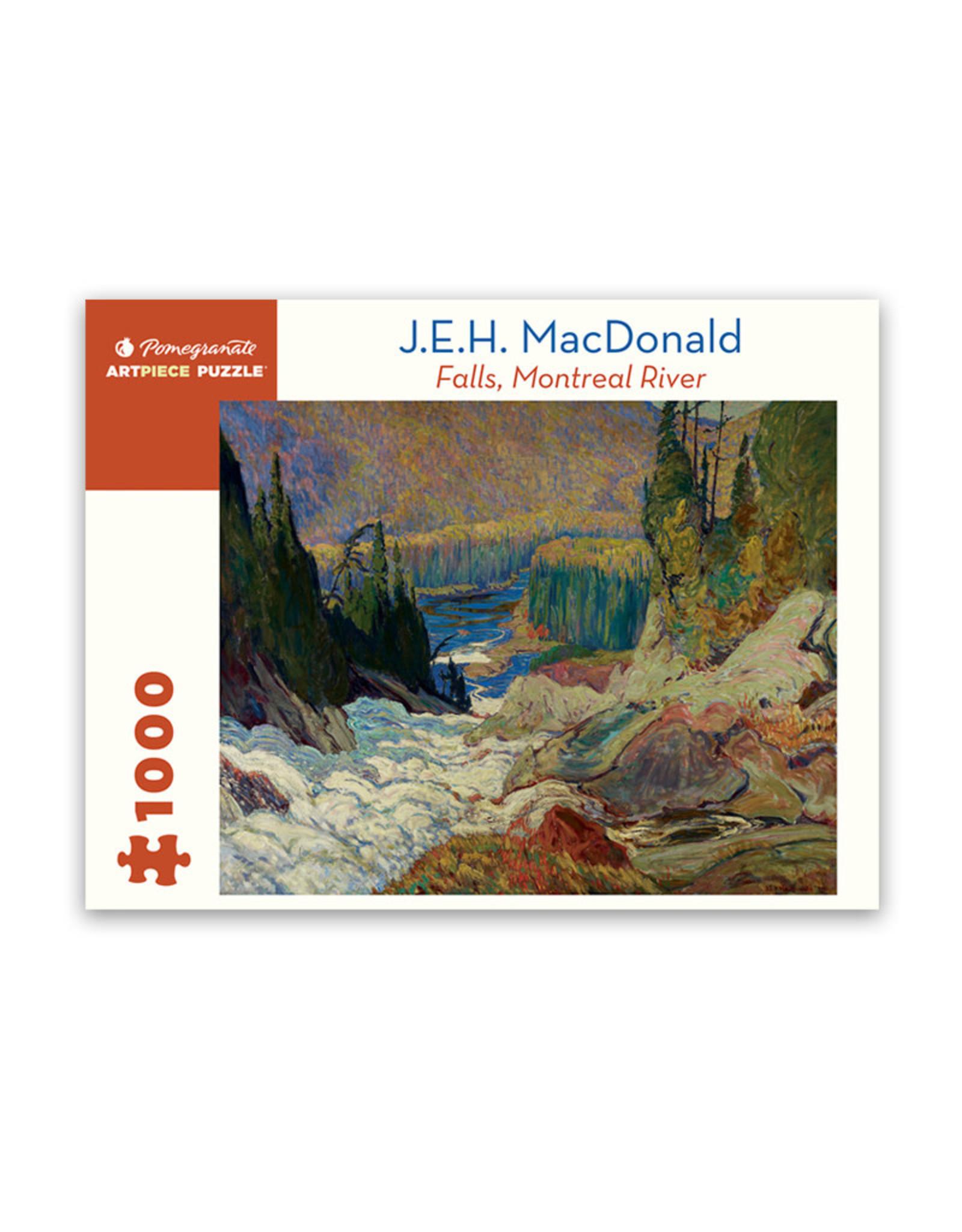 Pomegranate Falls, Montreal River Puzzle 1000 PCS (MacDonald)