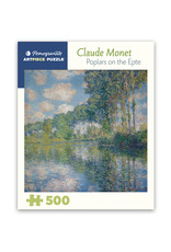 Pomegranate Poplars on the Epte Puzzle 500 PCS (Monet)