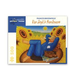 Pomegranate Van Gogh's Sunflowers Puzzle 500 PCS (Broomfield)