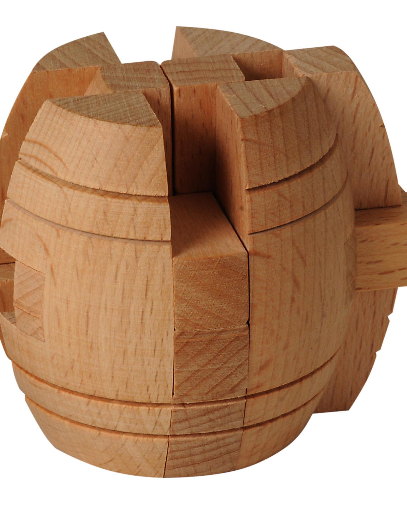 Wooden Barrel Puzzle