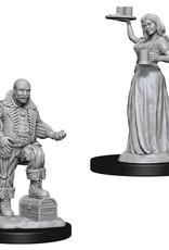 Wizkids Deep Cuts Unpainted Miniatures: Merchants