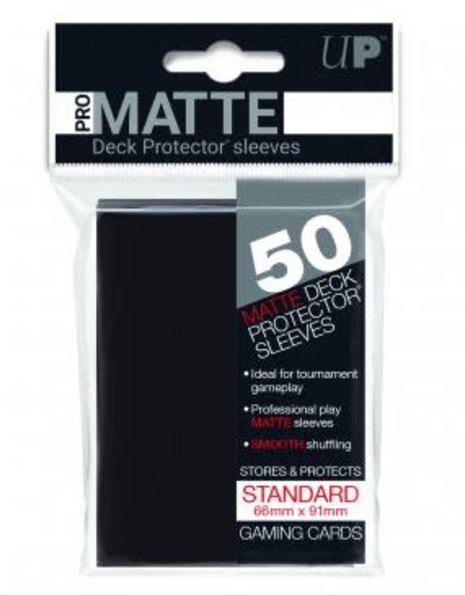 Deck Protectors: Pro-Matte (50) Black