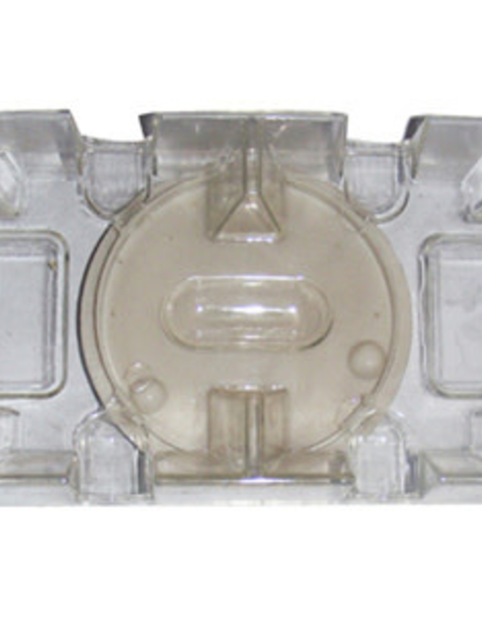 Revolving Clear Acrylic Card Holder: 2 Deck