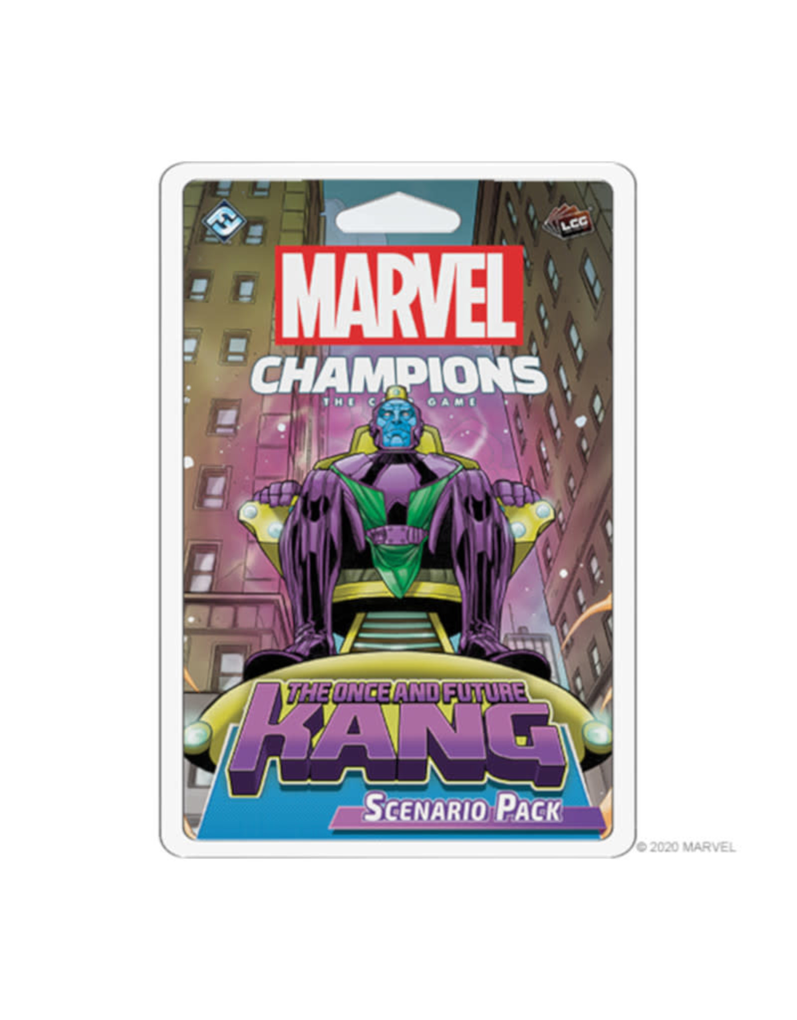 Fantasy Flight Games Marvel Champions LCG Scenario Pack: The Once and Future Kang