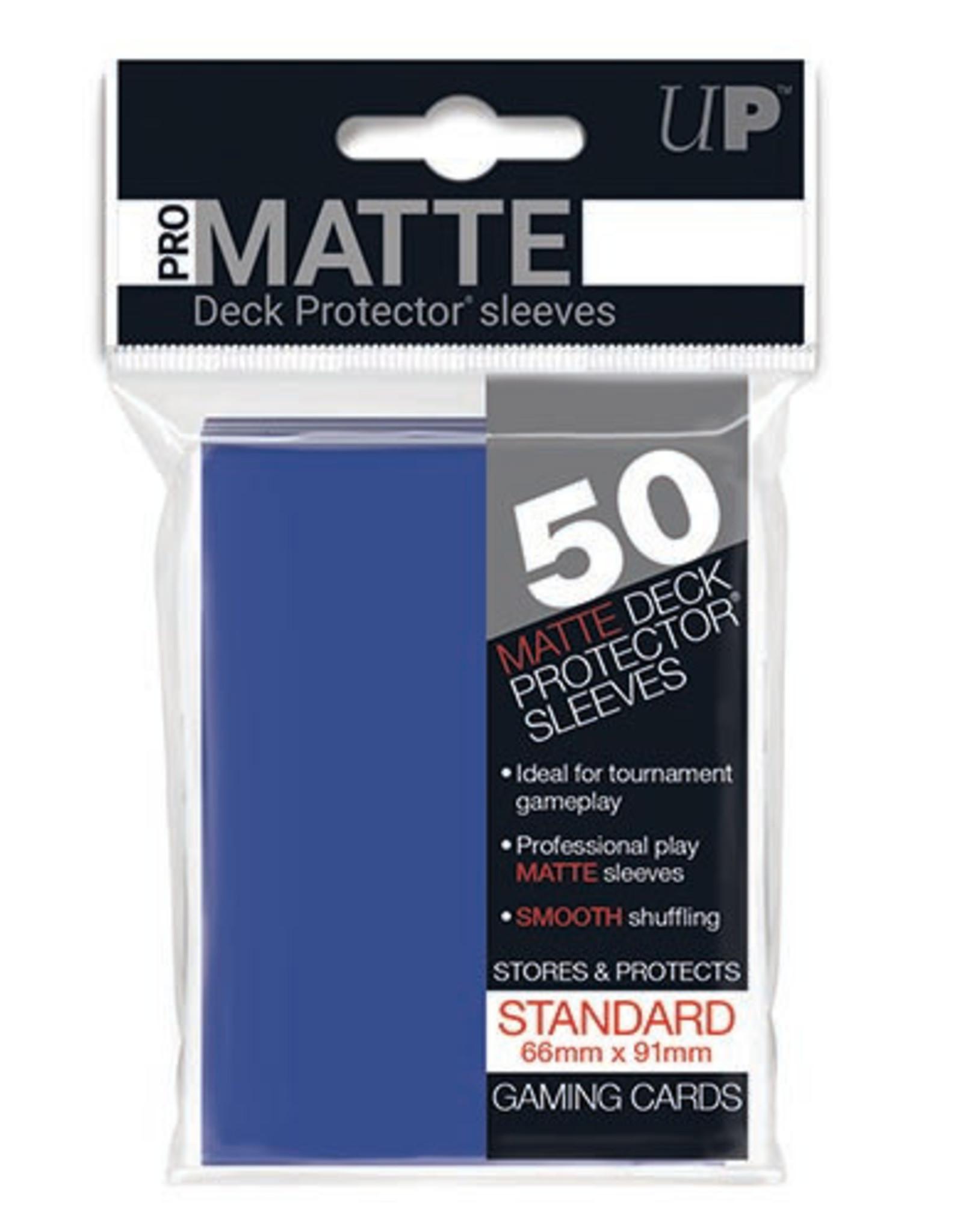 Deck Protectors: Pro-Matte (50) Blue