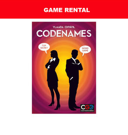 Czech Games Edition (RENT) Codenames for a Day. Love It! Buy It!