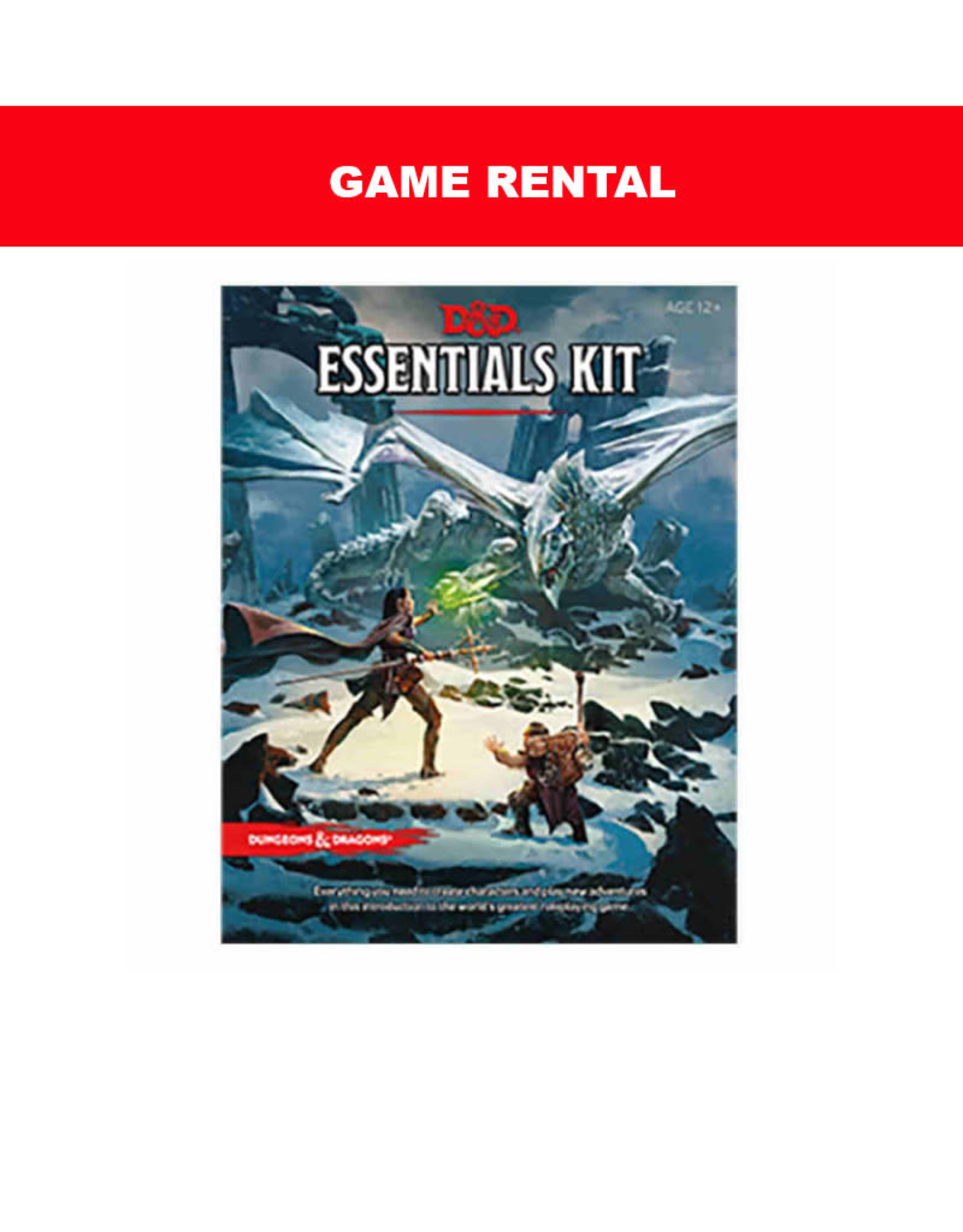 Wizards of the Coast (RENT) D&D RPG Essentials Kit per day. Love it! Buy it!