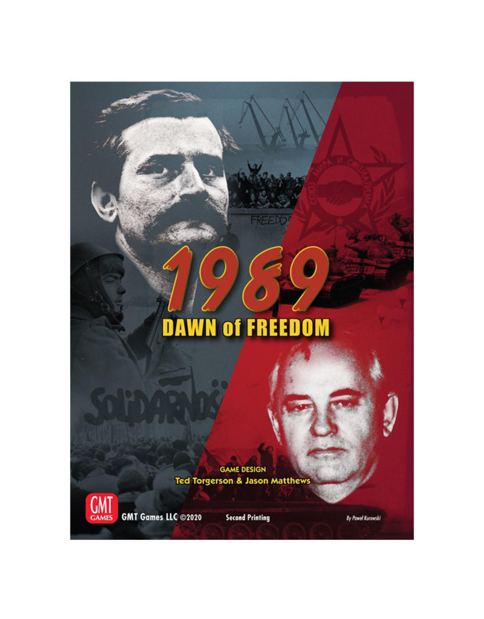GMT Games 1989 Dawn of Freedom