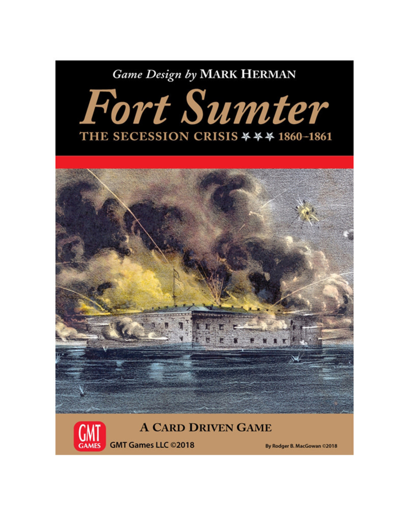 GMT Games Fort Sumter