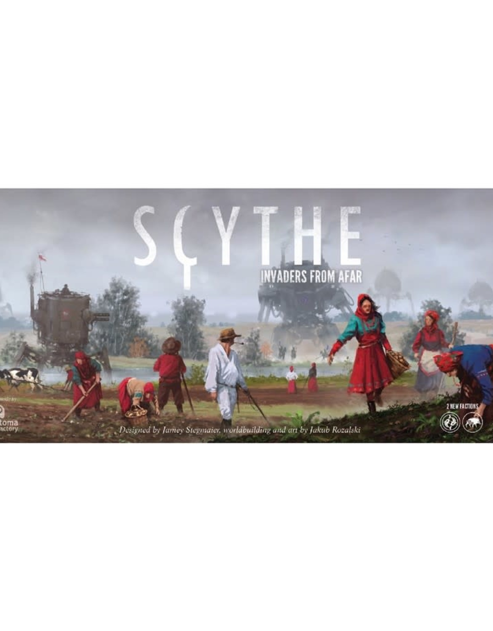 Stonemaier Games Scythe Invaders from Afar Expansion