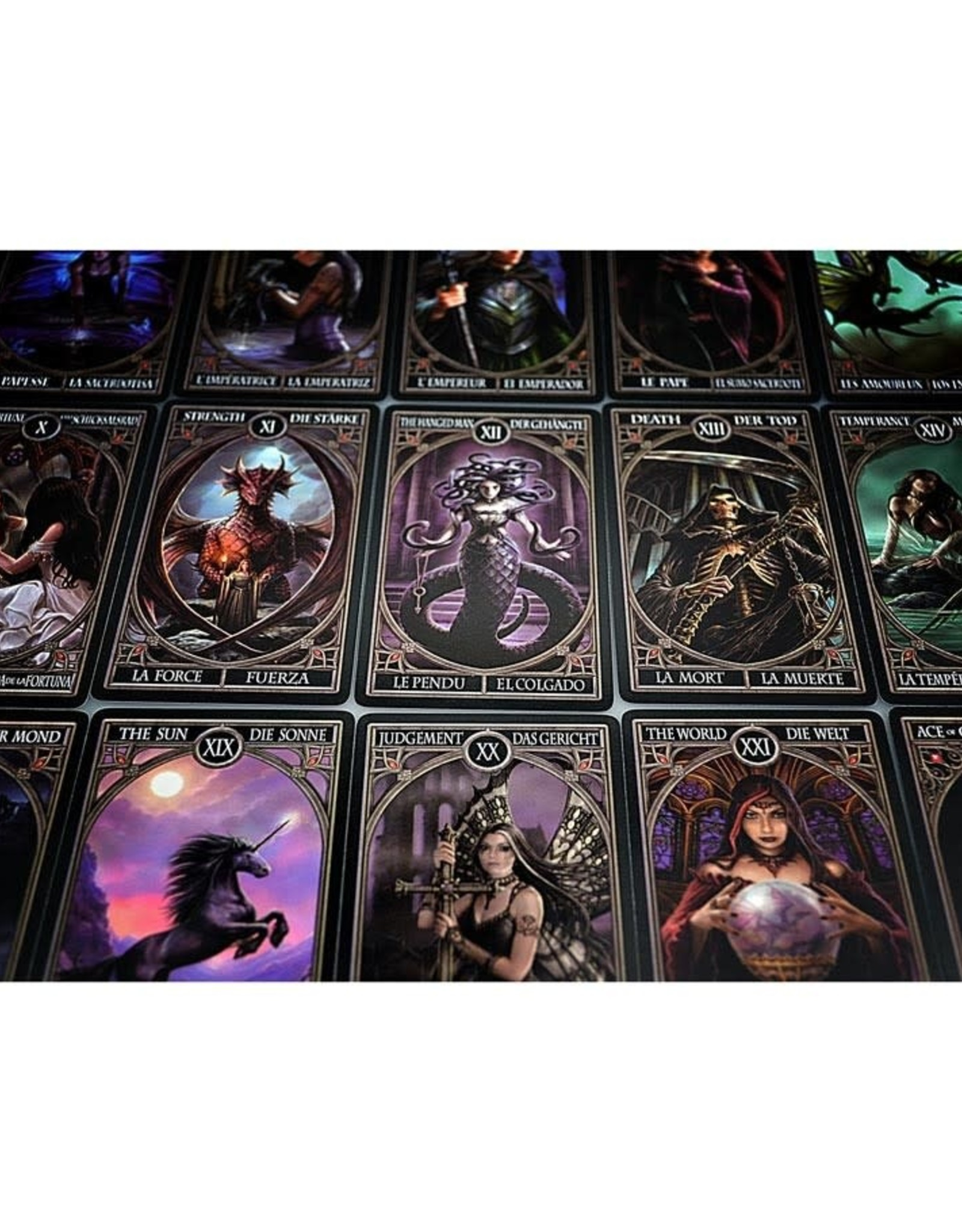 United States Playing Card Co Tarot Cards Gothic Anne Stokes