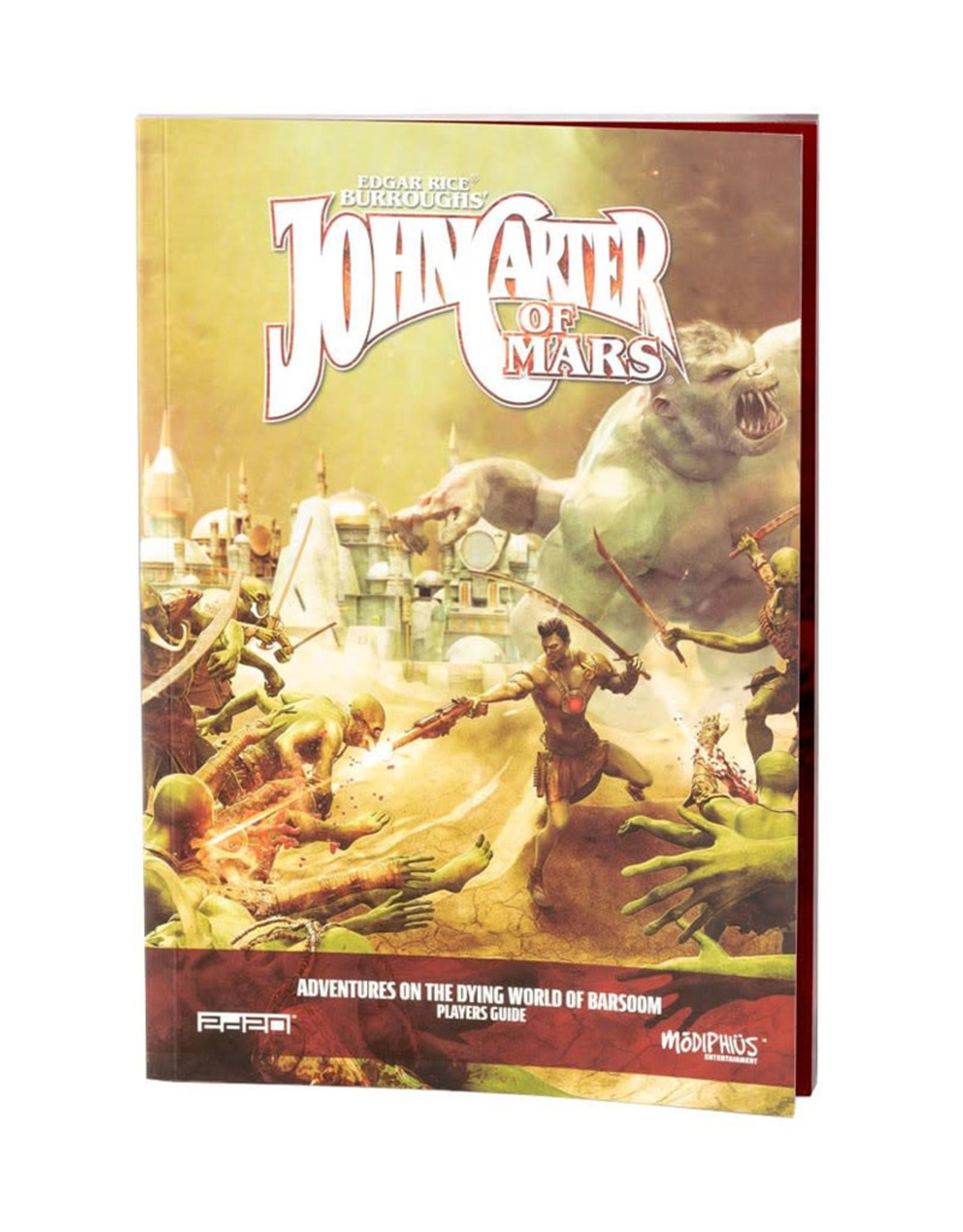 Modiphius John Carter Of Mars RPG: Adventure on the Dying World of Barsoom
