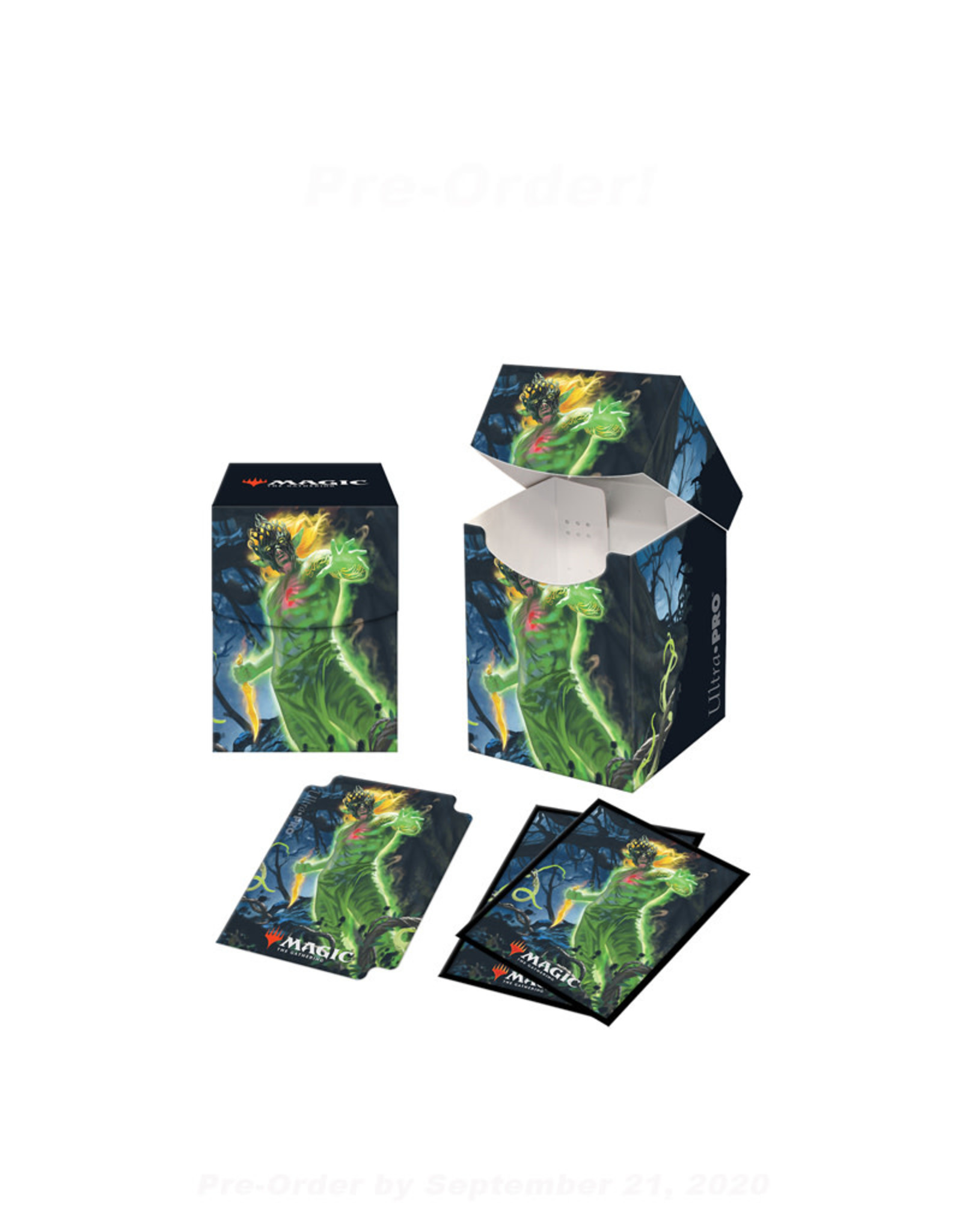 ULP MTG Zendikar Rising Combo Box & 100 Sleeves V1