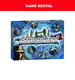 Ravensburger (RENT) Scotland Yard for a Day. Love It! Buy It!