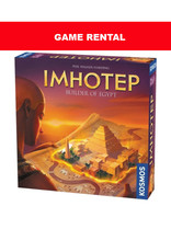 Thames and Kosmos (RENT) Imhotep for a Day. Love It! Buy It!