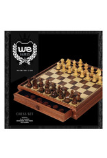 Chess Set: French Staunton 15 Inch Wooden Board with Drawers