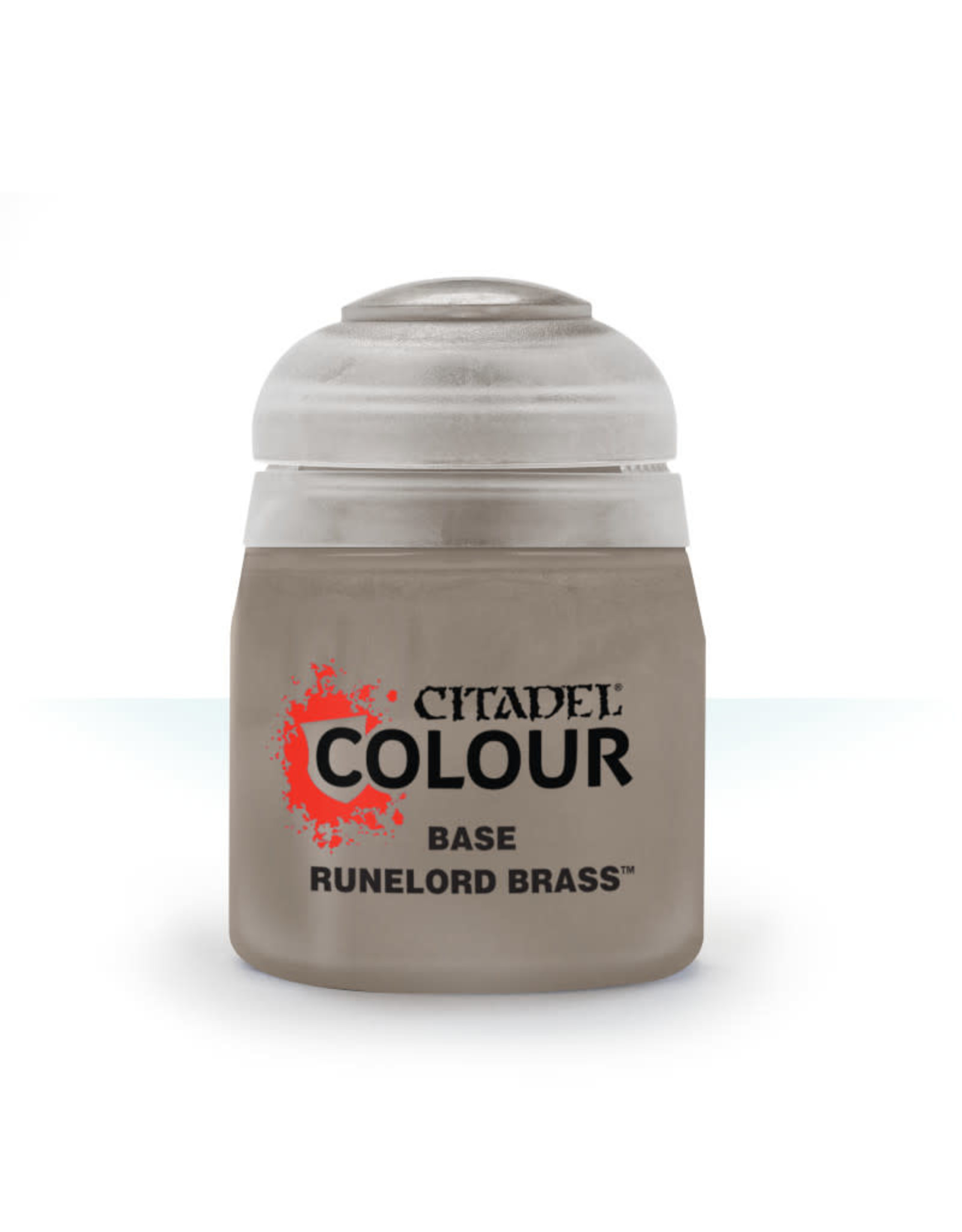 Citadel Base Paint: Runelord Brass