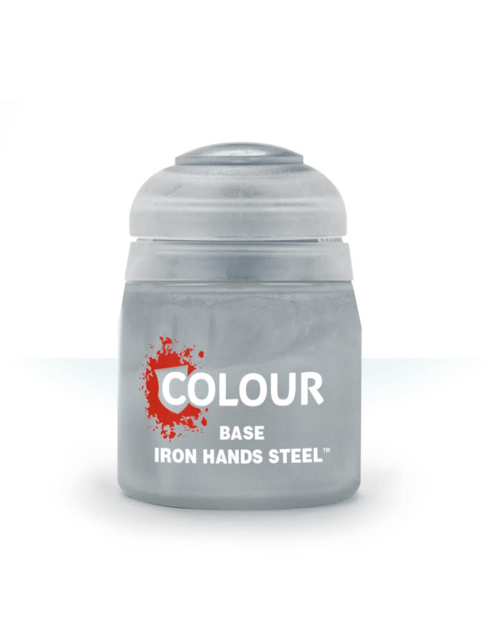 Citadel Base Paint: Iron Hands Steel