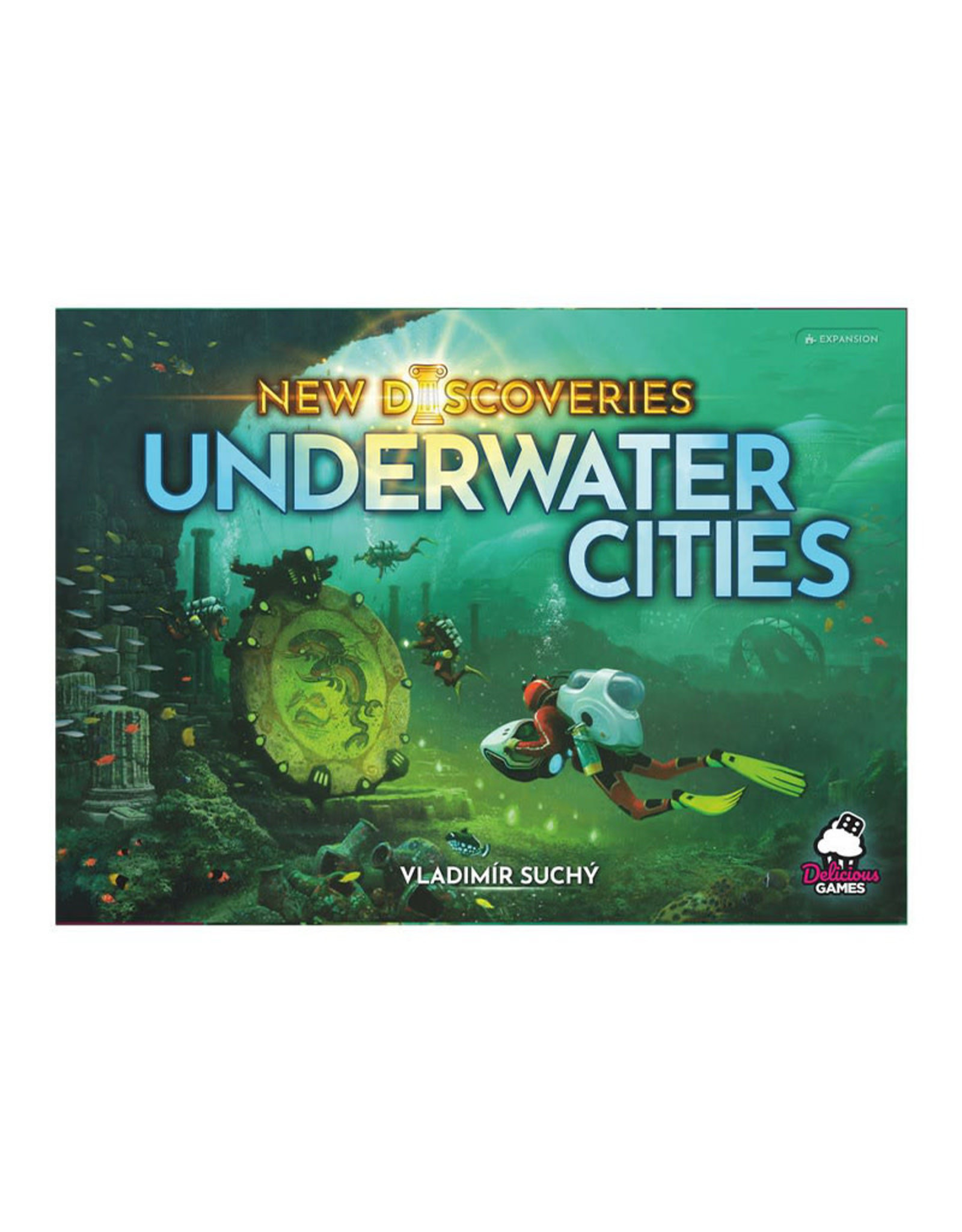 Rio Grande Games Underwater Cities New Discoveries Expansion