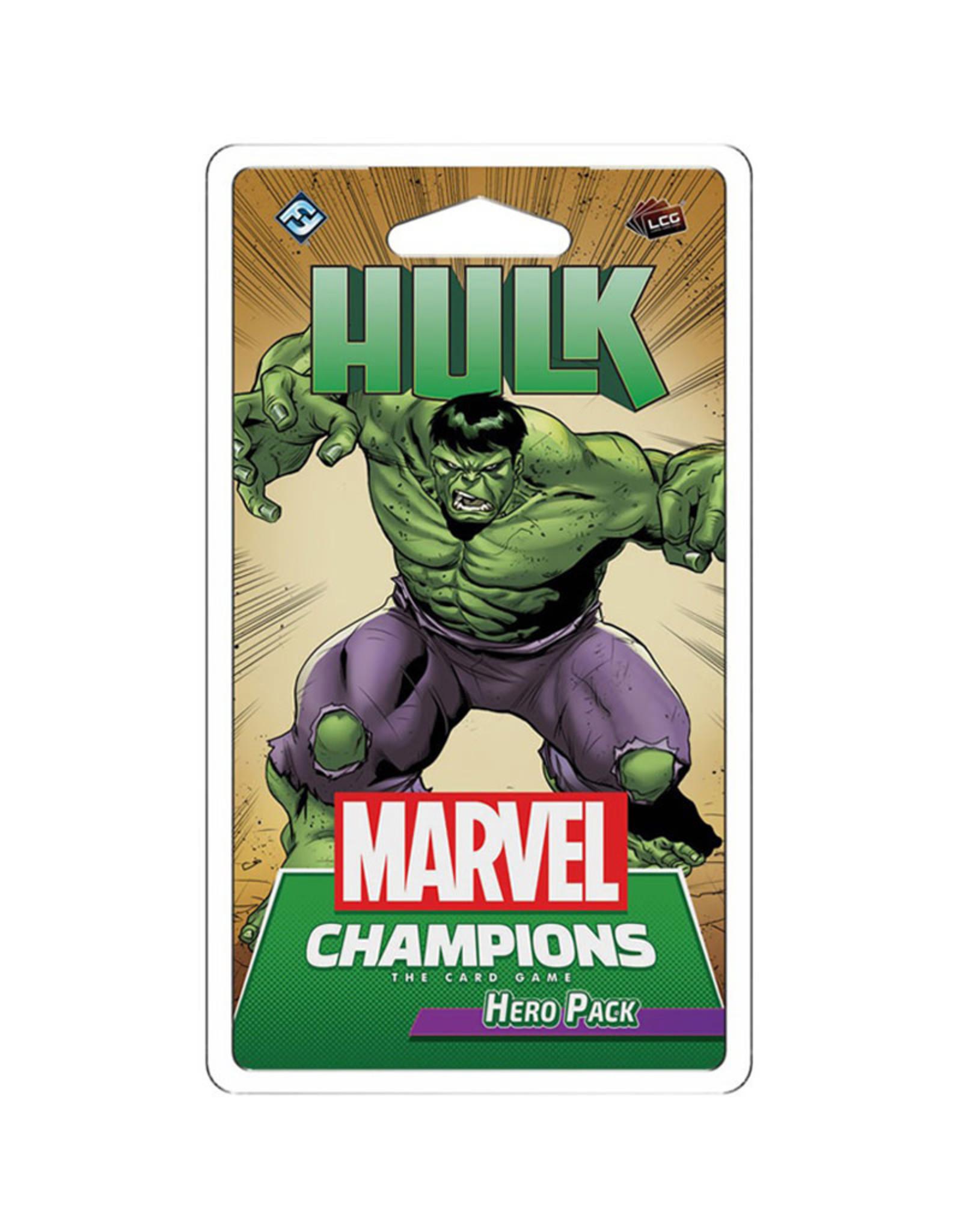 Fantasy Flight Games Marvel Champions LCG Hulk