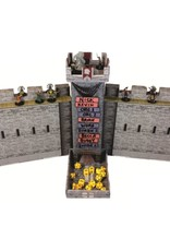 Role 4 Initiative Castle Keep RPG: Dice Tower and DM Screen Combo