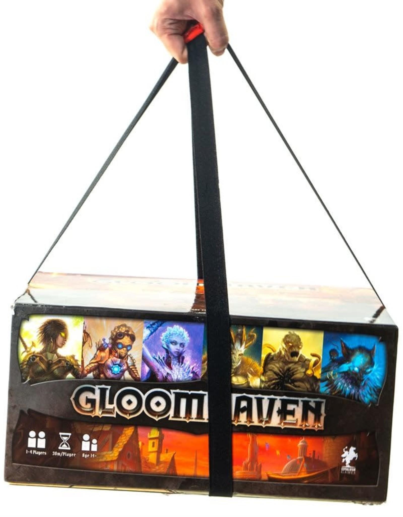 "Geek On Geekon Board Game Elastic Box Bands (5x8"" and 5x11"")"