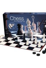 Gibsons Chess & Draughts Set