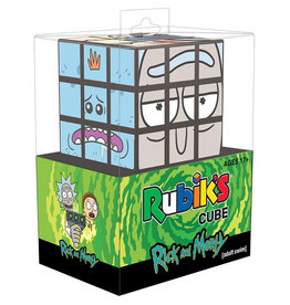 USAopoly Rubik's Cube: Rick and Morty
