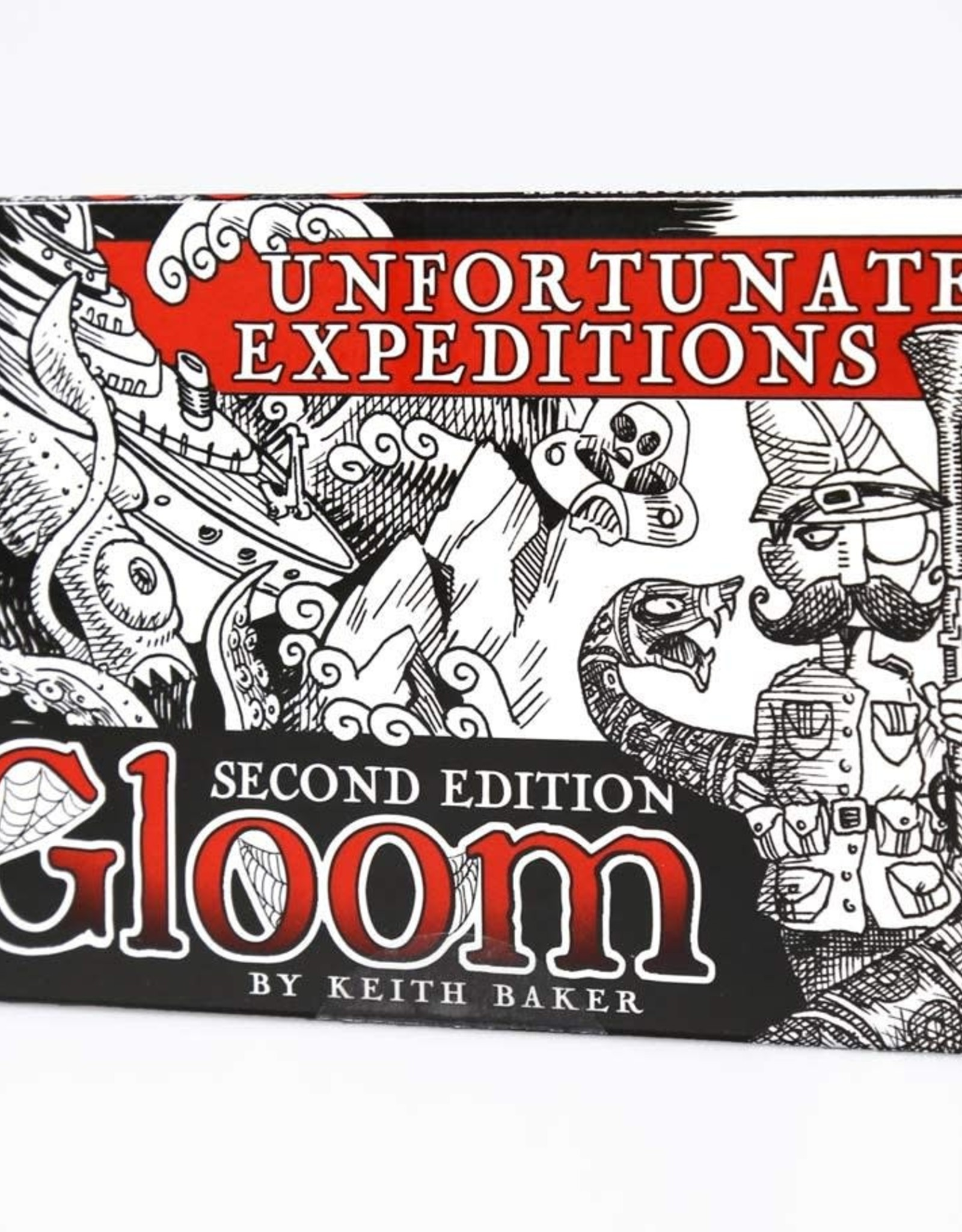 Atlas Games Gloom Unfortunate Expeditions Expansion