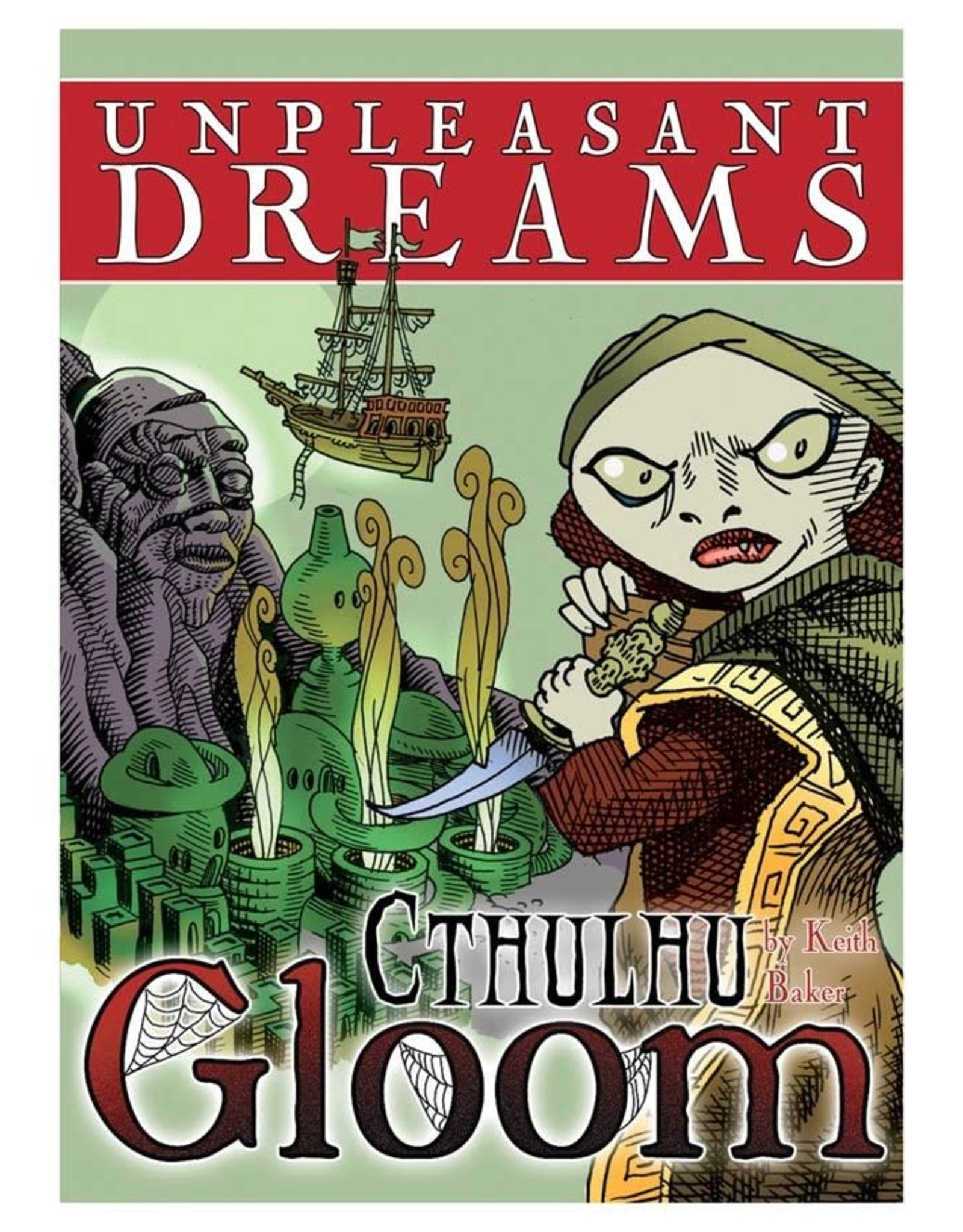 Atlas Games Gloom: Cthulhu Unpleasant Dreams Expansion
