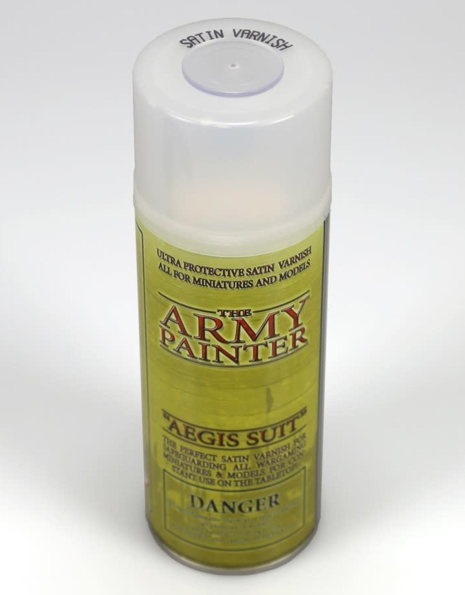 Base Primer: Aegis Suit, Satin Varnish