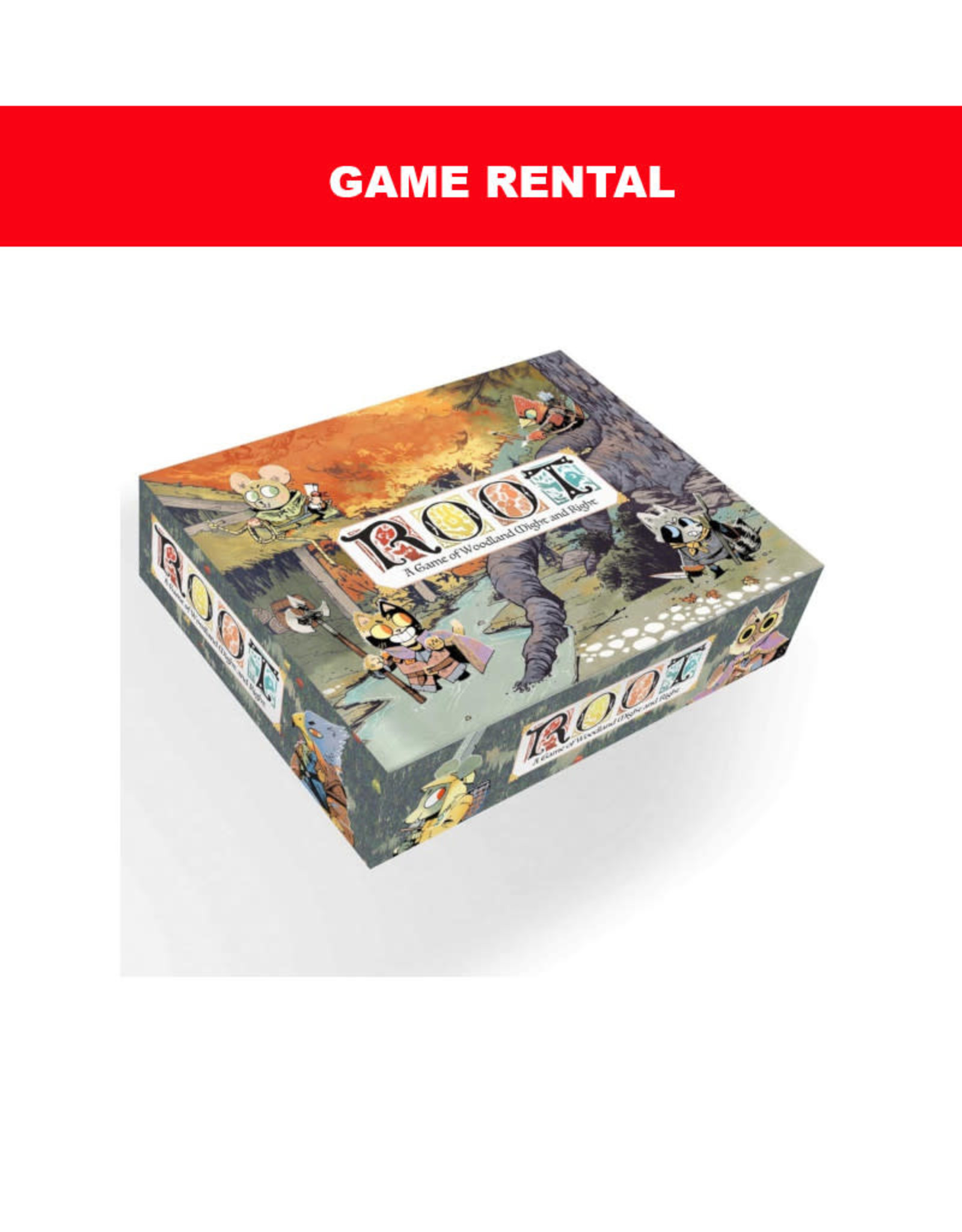 Leder Games (RENT) Root For a Day. Love It! Buy It!