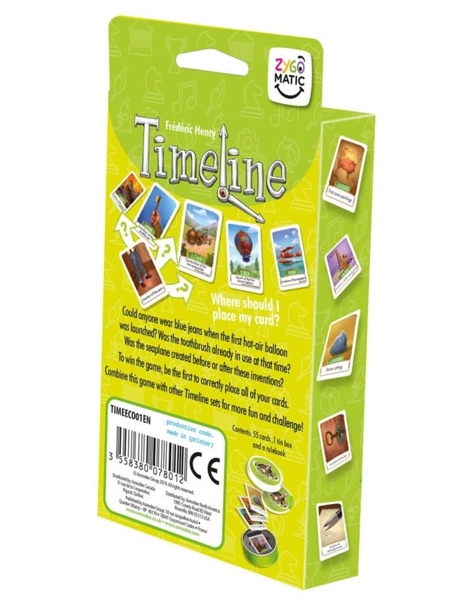 Timeline Inventions (Eco-Blister)