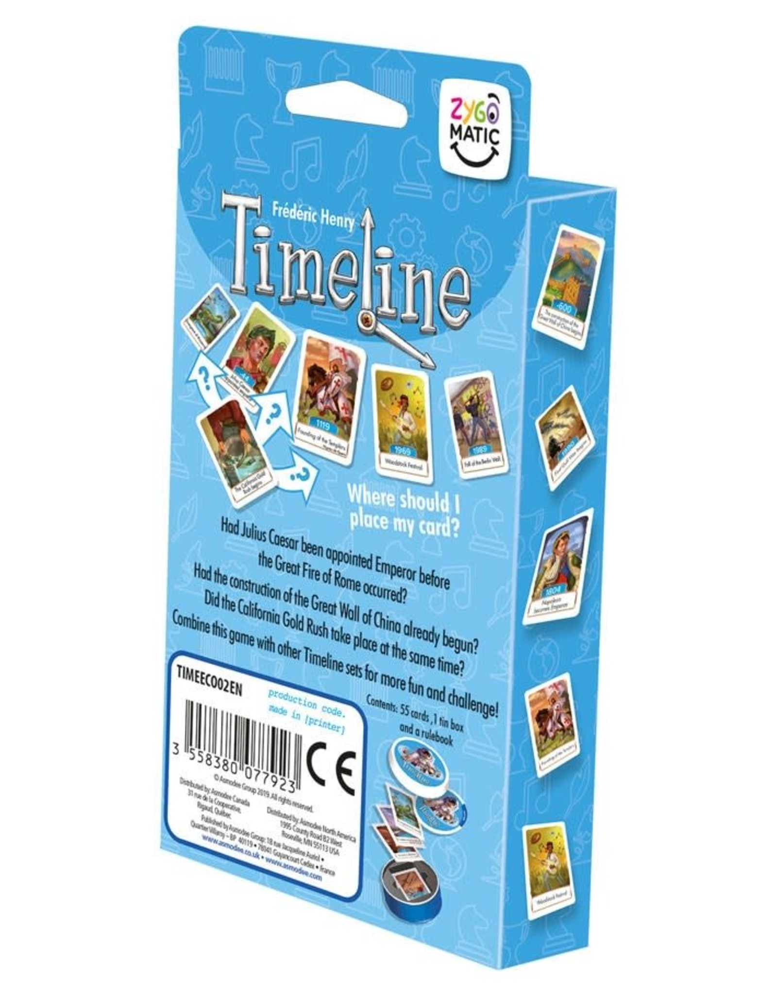 Timeline Events (Eco-Blister)