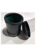 Koplow Dice Cup: Plastic Round Dice Cup With Twist Cover